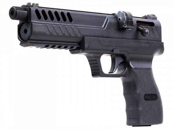 Bilde av Webley - Nemesis 4.5mm Luftpistol - Co2 Drevet