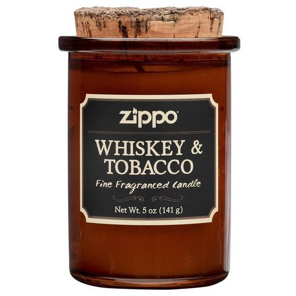 Bilde av Zippo - Spirit Candle Duftlys - Whiskey & Tobacco