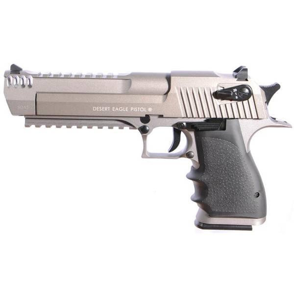 Bilde av Desert Eagle L6 Semi/Full Auto Softgunpistol CO2 - Stainless