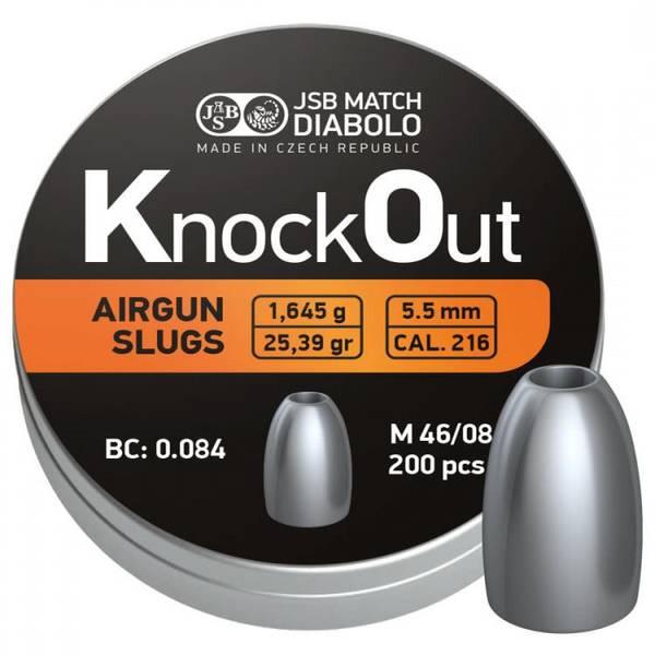 Bilde av JSB - KnockOut Slugs - 5.5mm