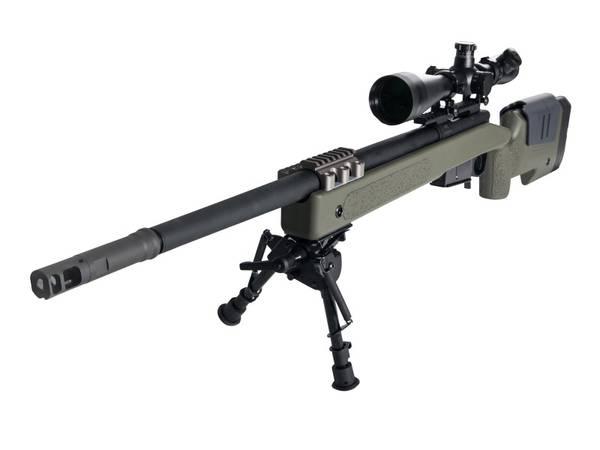 Bilde av McMillan M40A5 Sniper Rifle - Gass - OD Green