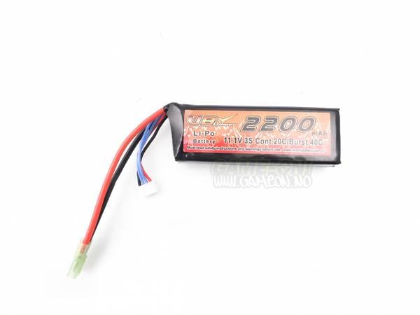 Bilde av Li-Po Batteri - 11.1V 2200mah