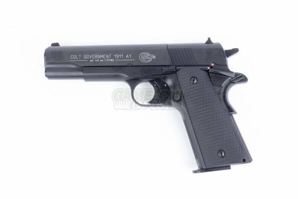 Bilde av Colt Government 1911 A1 Black Luftpistol - 4.5mm