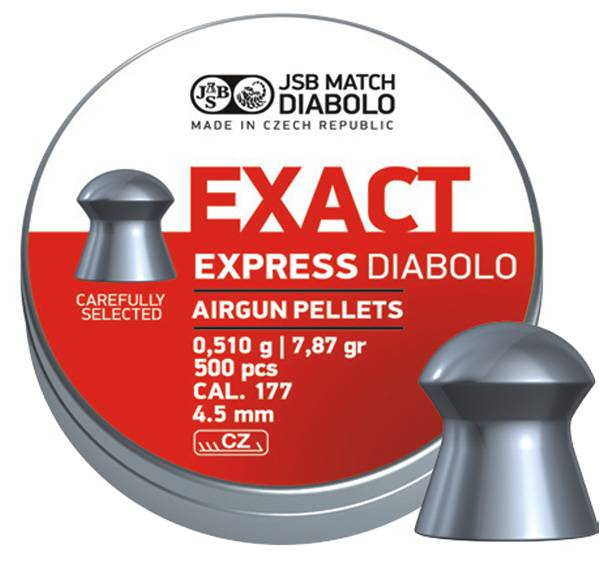 Bilde av JSB Exact Express - 4.52mm - 500stk