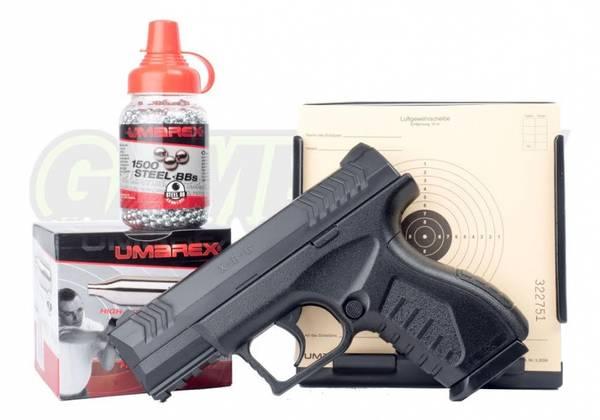 Bilde av Umarex XBG Luftpistol - 4.5mm BB -  PAKKE