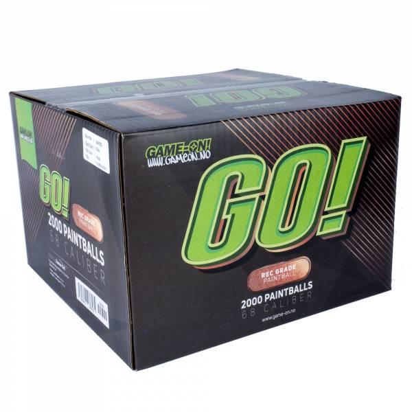 Bilde av GO! Paintballs - Bronze - 2000stk