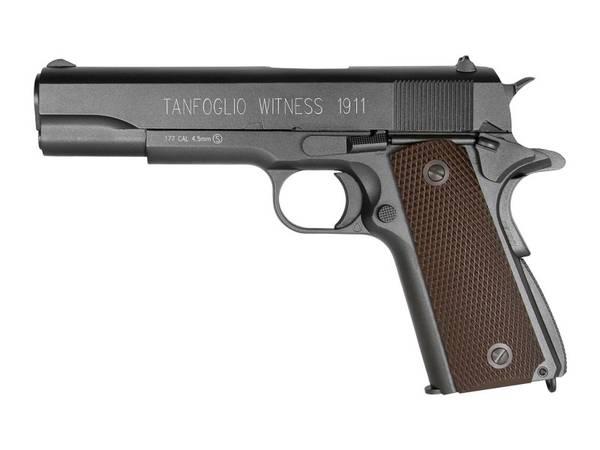 Bilde av Tanfoglio Witness - 1911 Luftpistol med Blowback - 4.5mm BB