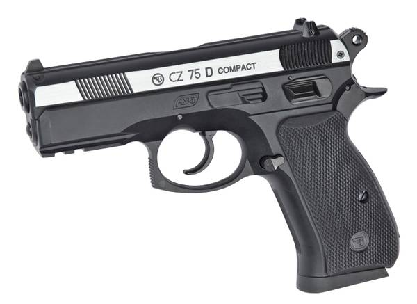 Bilde av CZ 75D Compact Luftpistol - Sølv -  4.5mm BB