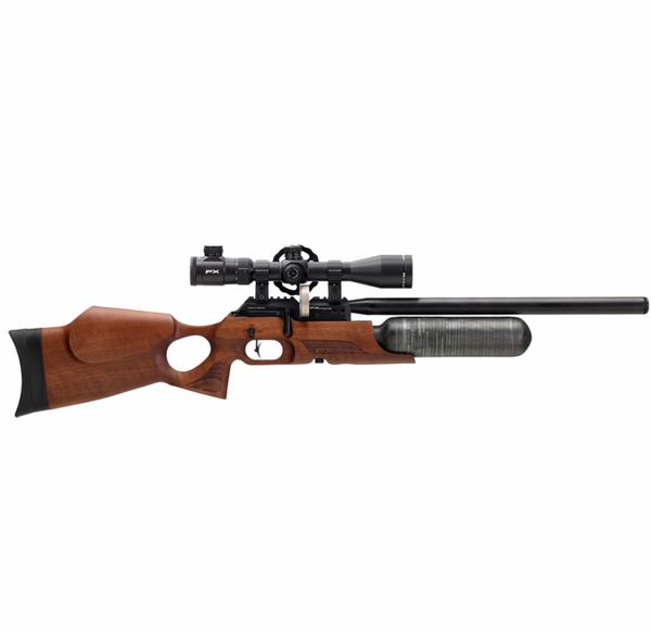 Bilde av FX Crown MKII Compact - 4.5mm PCP Luftgevær - Valnøtt