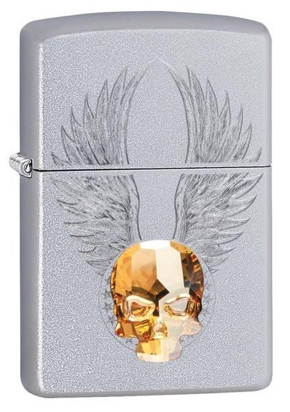 Bilde av Zippo - 3D Gold Crystal Skull - Lighter