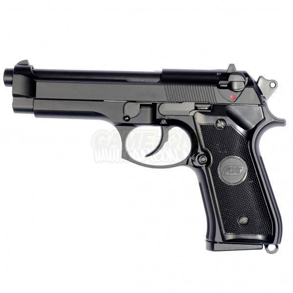 Bilde av M9 Classic Gass Softgun med Blowback - PAKKE