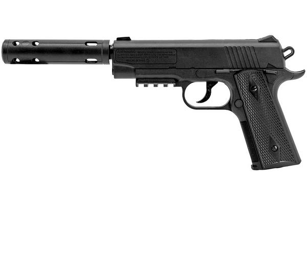 Bilde av Crosman 1911 Luftpistol med lasersikte - 4.5mm BB