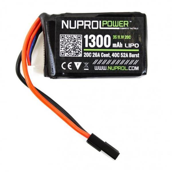 Bilde av NP Batteri Li-Po 11.1V 20C - 1300mAh - PEQ Micro Type
