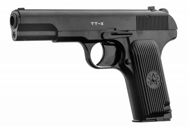 Bilde av Borner - TT-X Tokarev CO2 Drevet Luftpistol - 4.5mm BB