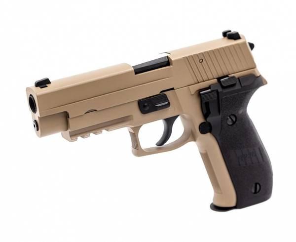 Bilde av Raven - P226 Softgunpistol med Blowback - Tan