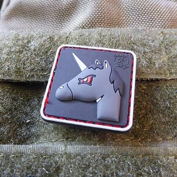 Bilde av Patch - Angry Unicorn Rubber - JTG