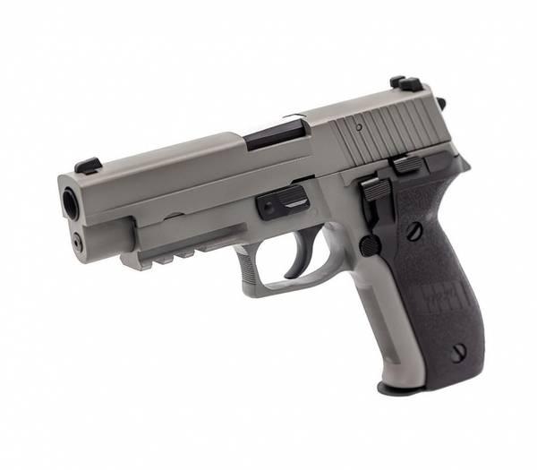 Bilde av Raven - P226 Softgunpistol med Blowback - Grå