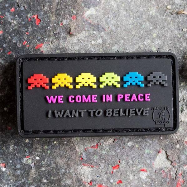 Bilde av Patch - Alien Invasion Rubber - Color