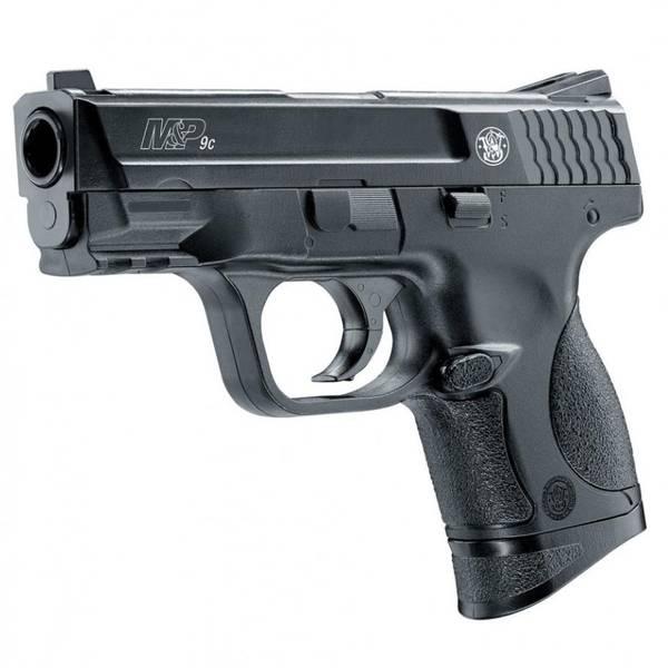 Bilde av Smith &Wesson - M&P9c Fjærdrevet Softgun Pistol - Svart