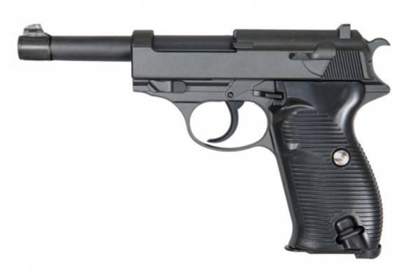 Bilde av Galaxy - G21 (P38) Fjærdrevet Softgun Pistol - Full Metall