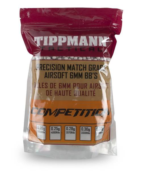 Bilde av Tippmann Competition - White - 1KG - 0,25g