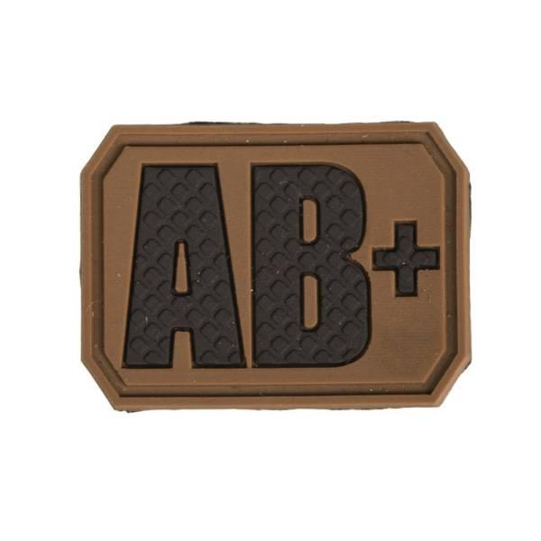 Bilde av Blodtype 3D Patch - Tan - AB+